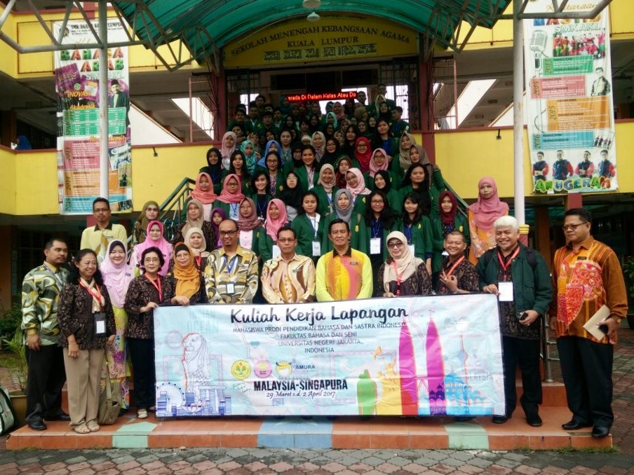 Lawatan Akademik Prodi Pbsi Fbs Unj Ke Smk Agama Kuala Lumpur Prodi Pendidikan Bahasa Dan Sastra Indonesia
