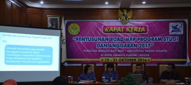 Raker Kaprodi FBS di Amarsya Hotel, Cisarua Bogor