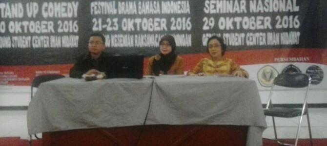 Seminar Nasional tentang Literasi