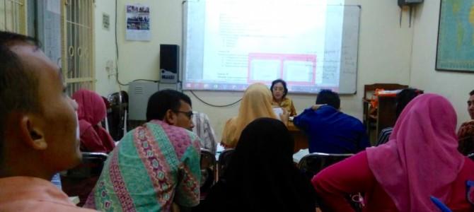 Kegiatan UTN PPG SM3T Bahasa Indonesia