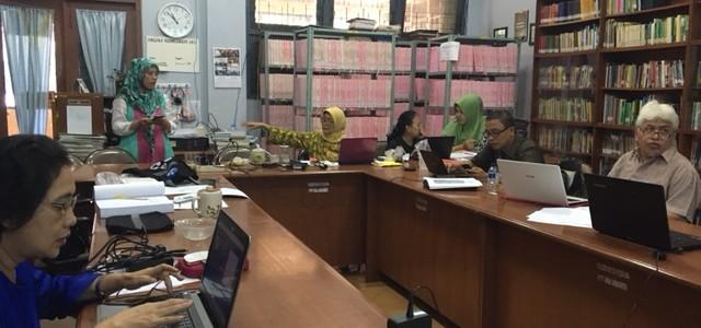 PELATIHAN TURNITIN BAGI DOSEN PRODI PENDIDIKAN BAHASA DAN SASTRA INDONESIA FBS UNJ