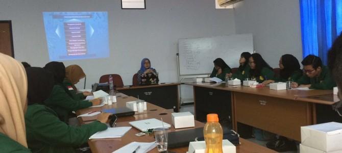 Workshop Inventarisasi dan Pengolahan Bahan Soal UKBI bagi Mahasiswa Prodi PBSI FBS UNJ