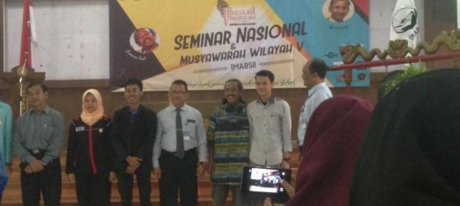 Kegiatan Musyawarah Wilayah Ikatan Mahasiswa Bahasa dan Sastra Indonesia Se-Indonesia (IMABSII) Regional Jawa Madura di Universitas Sebelas Maret Surakarta