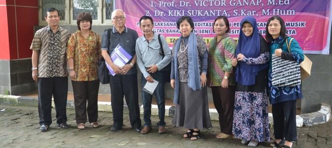 Visitasi Borang Akreditasi Prodi Pendidikan Seni Musik