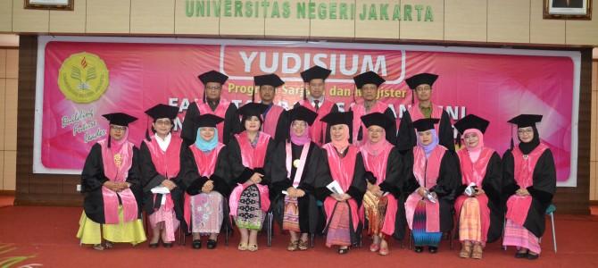 Yudisium Lulusan FBS Semester 106 Tahun Akademik 2016/2017
