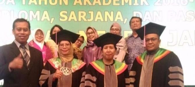 Wisuda Tahun Akademik 2016/2017 Program Diploma, Sarjana, dan Pascasarjana UNJ