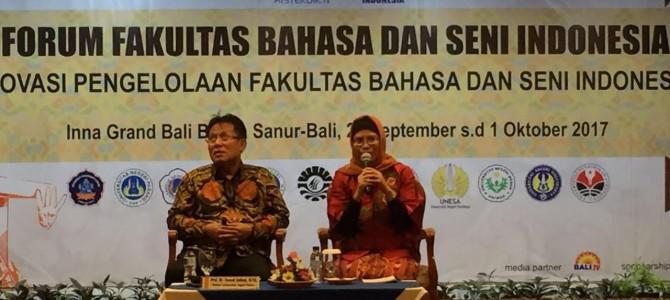 Peran Serta FBS UNJ dalam Forum FBS Indonesia di Bali