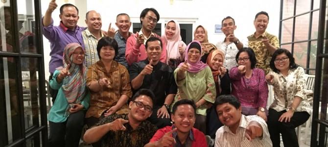 Silaturahmi Pimpinan FBS dan Pengurus IKA