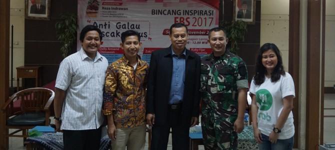 "Bincang Alumni Fakultas Bahasa dan Seni (FBS) 2017 ""Anti Galau Pascakampus"""