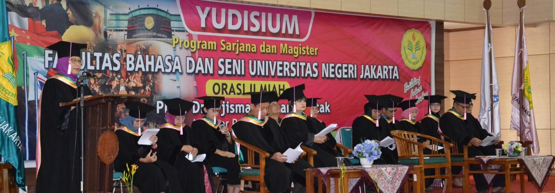 Yudisium Lulusan FBS Semester 107 Tahun Akademik 2017/2018