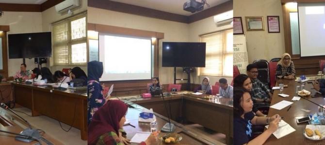 Pelatihan Calon Mahasiswa Berprestasi Tingkat Fakultas 2018