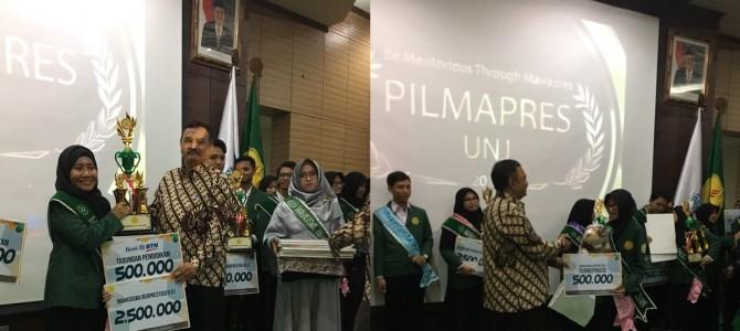 Tita Desyara dan Indri Susilowati, berhasil mengharumkan nama FBS di Grand Final Pilmapres UNJ 2018