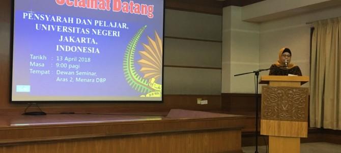 Jalinan Kerja Sama FBS dengan Dewan Bahasa dan Pustaka Malaysia