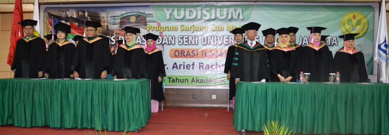 Yudisium Program Sarjana dan Magister Fakultas Bahasa dan Seni UNJ