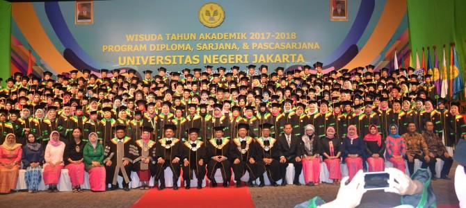 Wisuda Tahun Akademik 2017/2018 FBS UNJ