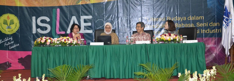 International Seminar on Language, Literature, Arts, and Education (ISLAE)