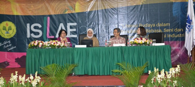 International Seminar on Language, Literature, Arts, and Education (ISLAE)