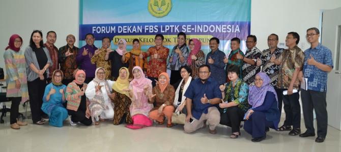 Forum Dekan FBS LPTK se-Indonesia dan Pengarahan Dirjen Belmawa Kemenristekdikti