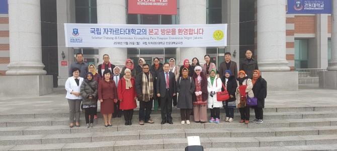 Uji Baku Mutu FBS UNJ ke Kyungdong University