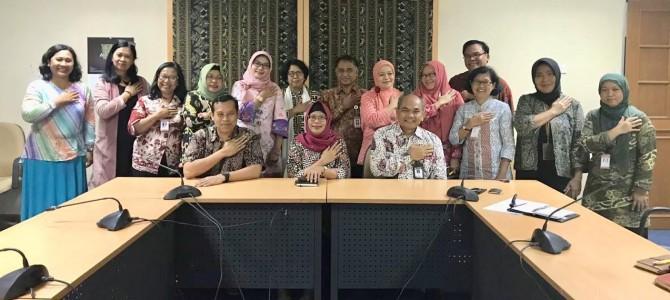 Penandatangan Dokumen Kerja Sama FBS UNJ dengan Museum Nasional Indonesia