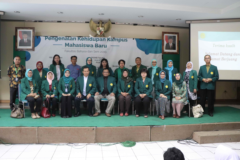 PKKMB Fakultas Bahasa dan Seni Tahun 2019