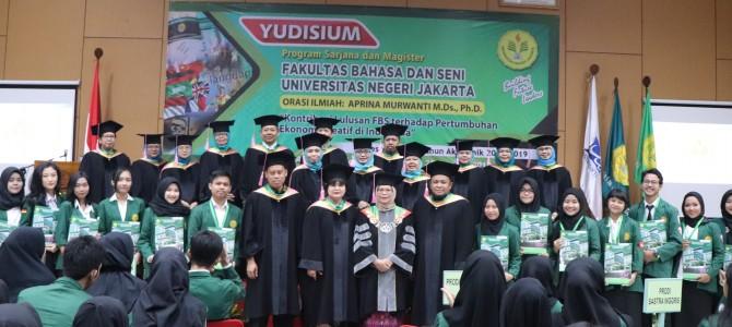YUDISIUM FAKULTAS BAHASA DAN SENI  SEMESTER GENAP T.A. 2018/2019