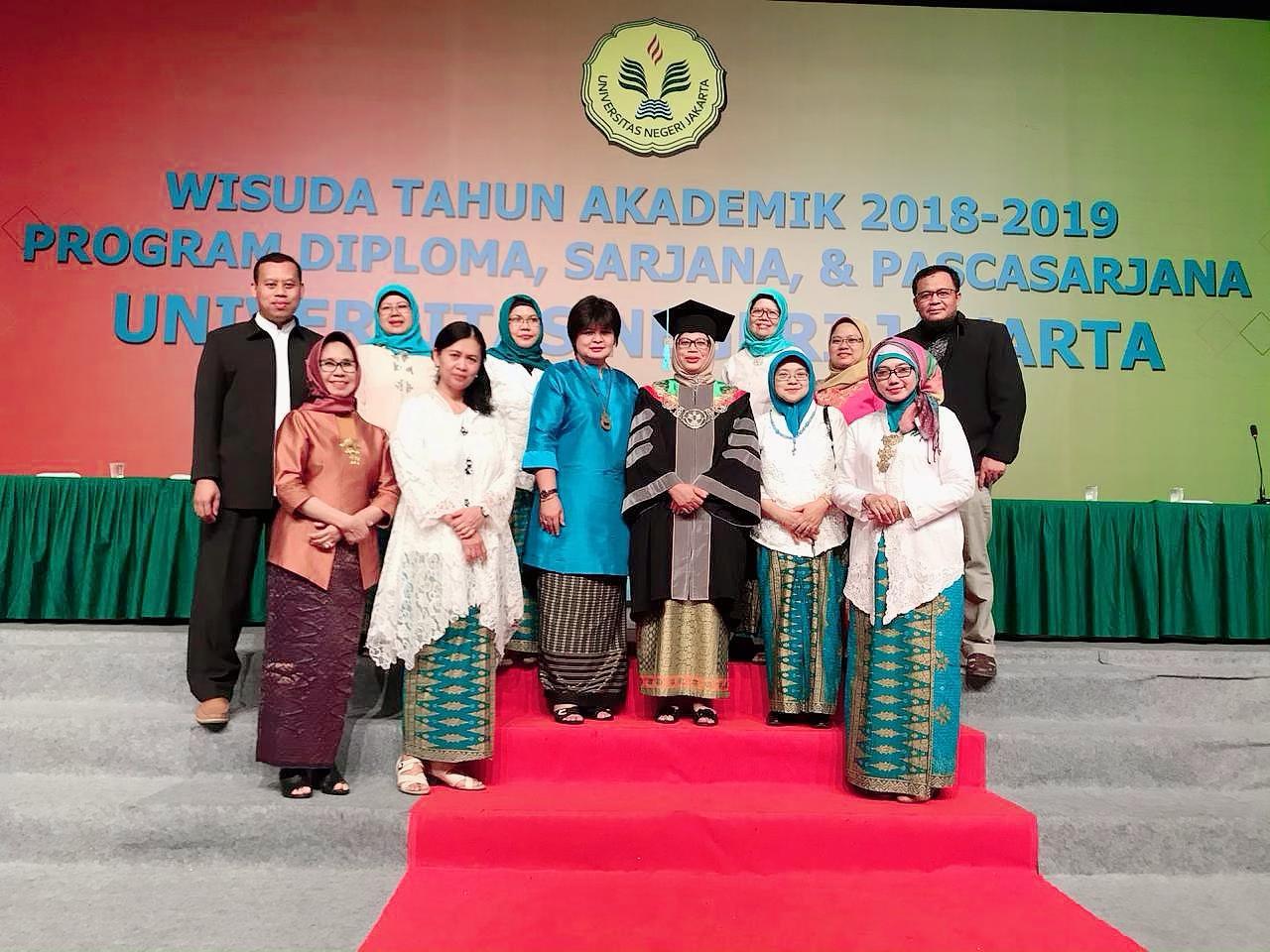 Wisuda Tahun Akademik 2018-2019 Program Diploma, Sarjana, dan Pascasarjana UNJ