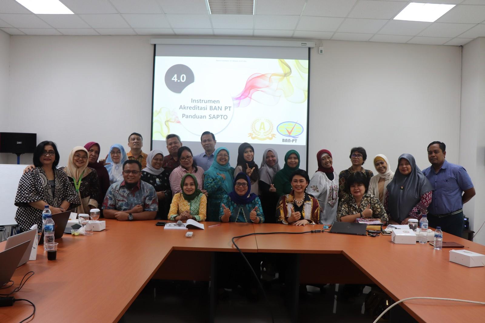 Rapat Penyamaan Persepsi Instrumen Akreditasi Program Studi (IAPS) 4.0.