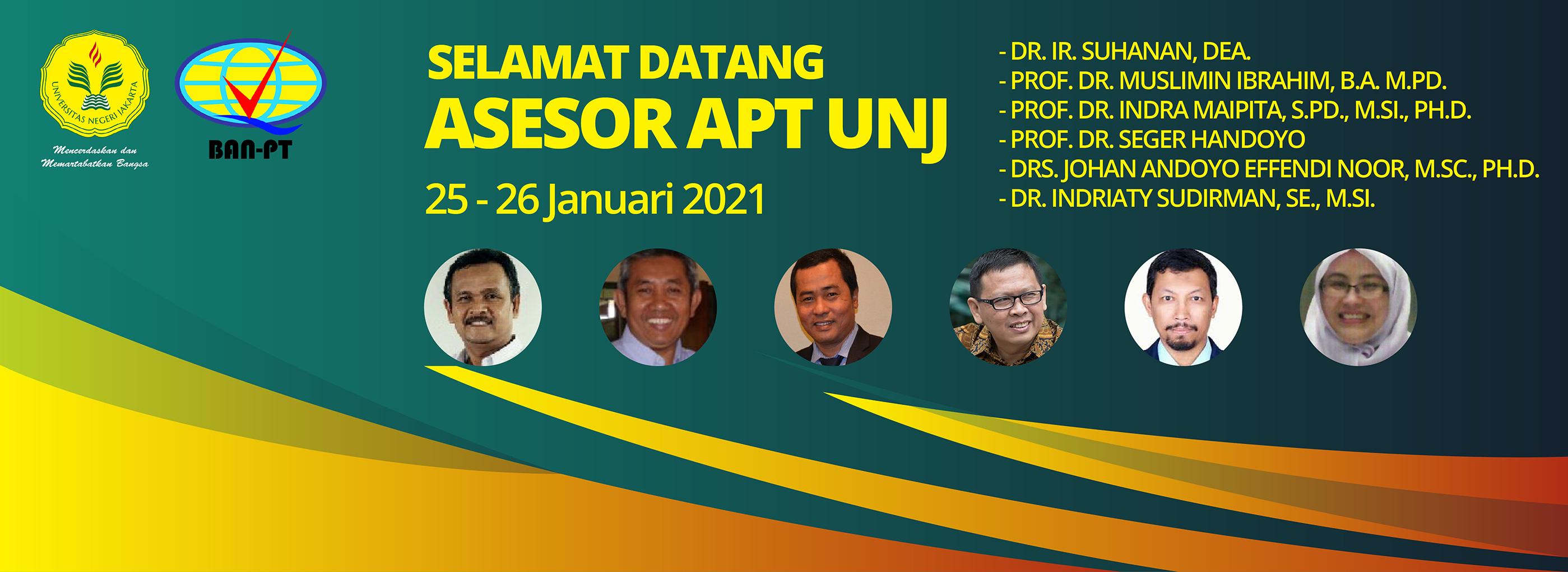 Sivitas Akademika Fakultas Bahasa dan Seni Mendukung Visitasi Asesmen Lapangan Akreditasi Perguruan Tinggi (APT) Universitas Negeri Jakarta