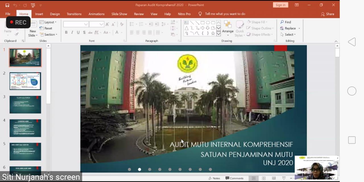 Pembukaan Pekan Audit Mutu Internal (AMI) Fakultas Bahasa dan Seni