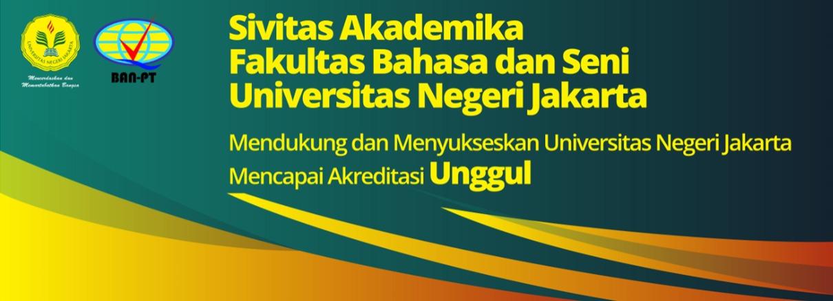 SIVITASI AKADEMIK FAKULTAS BAHASA DAN SENI UNIVERSITAS NEGERI JAKARTA