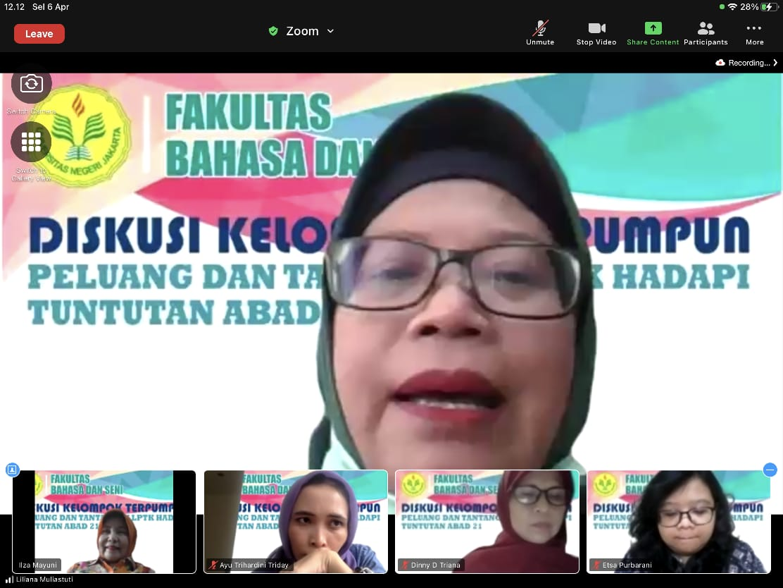 """Peluang dan Tantangan LPTK Hadapi Tuntutan Abad 21"" dalam Serunya Diskusi Kelompok Terpumpun di Fakultas Bahasa dan Seni"